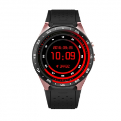 Montre Téléphone Connectée Sport iPhone Android Smartwatch WIFI 4 Go GPS Or Rose - Montre connectée - www.yonis-shop.com