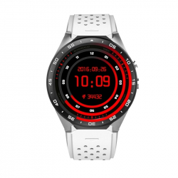 Montre Connectée Sport iPhone Android Smartwatch Podometre WIFI Blanc - Montre connectée / Smartwatch - www.yonis-shop.com
