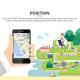 Traceur GPS Enfant Android iPhone LBS Sécurité 2G Surveillance Bleu - Montre connectée - www.yonis-shop.com