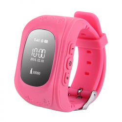 Traceur GPS Enfant Android iPhone LBS Surveillance Podomètre Rose - Montre connectée / Smartwatch - www.yonis-shop.com