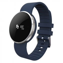 Montre Intelligente iPhone Smartwatch Cardiofrequencemetre Bleu - Montre connectée / Smartwatch - www.yonis-shop.com