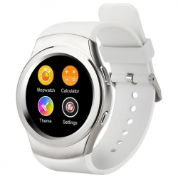 Montre Sport Android iOS Smartwatch Bluetooth Cardio Téléphone Bleu - Montre connectée / Smartwatch - www.yonis-shop.com