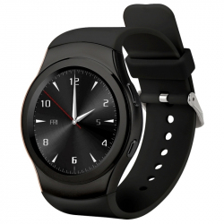 Montre Connectée Sport Android iOS Bracelet Cardio BT Calories Noir - Montre connectée / Smartwatch - www.yonis-shop.com
