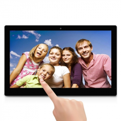 "Tablette Grand Ecran 18"" Android Cadre Photo Numérique LCD Tactile QuadCore"