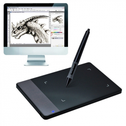 "Mini Tablette Graphique 5 pouces Windows Mac Palette Dessin 4x2.34"" 4000 LPI"