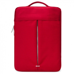 "Sacoche Ordinateur Portable 13,3"" Macbook PC Tablette Waterproof Rouge"