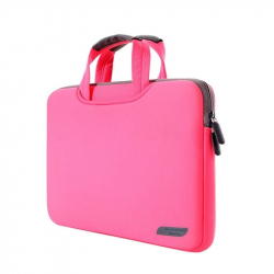 Sacoche Ordinateur Portable 15 Pouces Housse Macbook Pro Antichoc Rose - Sacoche ordinateur portable - www.yonis-shop.com