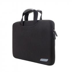 """Sacoche Ordinateur 15.4\\"""" Housse Macbook Pro PC Tissu Imperméable Noir - Sacoche ordinateur portable - www.yonis-shop.com"""