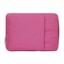 Housse macbook pro étui protection pc portable 15 - 15.4 pouces Rose - Sacoche ordinateur portable - www.yonis-shop.com