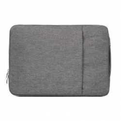 Pochette ordinateur portable 15.4'' antichoc housse macbook pro Gris - Sacoche ordinateur portable - www.yonis-shop.com