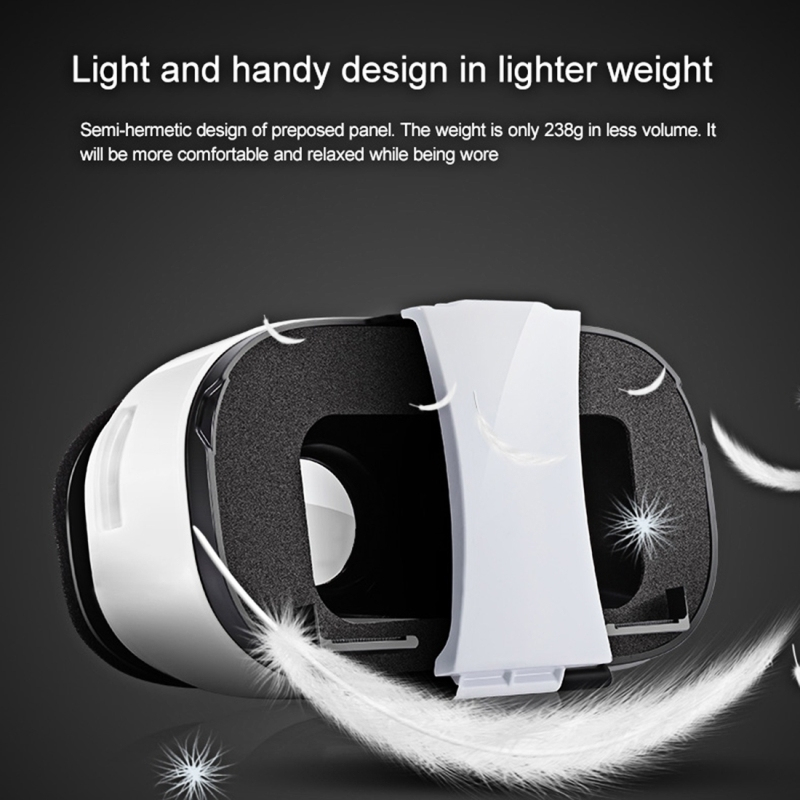 casque realite virtuel android iphone lunette vr 3d smartphone 4 6 3. Black Bedroom Furniture Sets. Home Design Ideas