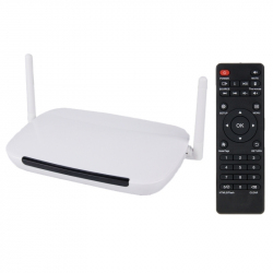 Android Box Passerelle Multimedia Quad Core RJ45 8Go ROM 1Go RAM Blanc - Android TV box - www.yonis-shop.com