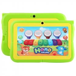 Tablette tactile 7 pouces Android Educative Mode Enfant Quad Core 8GO WiFi Bluetooth Vert - Tablette tactile enfant - www.yon...