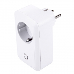 Prise Connectée Support Android iOS USB Port Télécommande Interrupteur Minuterie Protection Charge Blanc