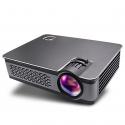 Vidéoprojecteur Full HD 1080p LED LCD Haut-Parleurs Stéréo Télécommande Distance Projection 1 - 5 Mètres Noir - Vidéoprojecte...