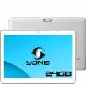 Tablette 4G Android 6.0 Dual SIM 10 pouces Quad Core 2Go RAM 24Go Blanc - Tablette tactile 10 pouces - www.yonis-shop.com