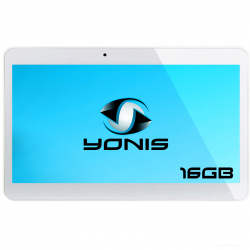 Tablette 10.1 pouces 3G Android Dual SIM Quad Core 1Go RAM Blanc 16Go