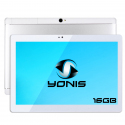 Tablette 10 Pouces Android 6.0 Tactile Double SIM 3G Bluetooth Argent - Tablette tactile 10 pouces - www.yonis-shop.com