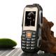 Téléphone Antichoc waterproof 1.8 pouces Dual SIM Radio FM Batterie 3800 mAh Lampe torche Noir - Téléphone incassable - www.y...