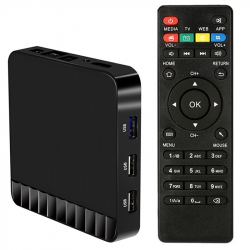 Mini PC Android 7.1 Quad Core 4GB RAM Box TV Kodi Lecteur 4K UHD WiFi 16Go Noir - Android TV box - www.yonis-shop.com