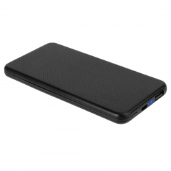 Batterie Portable 10000 mAh Power Bank Universelle Chargeur Smartphone Tablette Noir