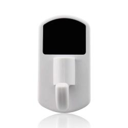 Porte manteau caméra espion détecteur de mouvement Micro SD Blanc