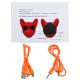Enceinte Bluetooth Haut-Parleur Sans Fil Forme Bulldog Stéréo Portable Prise En Charge Entrée Auxiliaire Carte TF Noir - Ence...