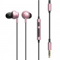 ROCK Mobuw 3.5mm In-ear Stereo Music Earphones with Mic & Line Control, For iPhone, Galaxy, Huawei, Xiaomi, LG, HTC and Other...