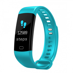 Y5 0.96 inch Color Screen Bluetooth 4.0 Smart Bracelet, IP67 Waterproof, Support Sports Mode / Heart Rate Monitor / Sleep Mon...