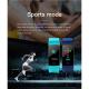 Bracelet connecté Android iOS Montre Bluetooth 4.0 0.96 Pouces IP67 Mode Sommeil Fréquence Cardiaque Bleu Ciel - Bracelet con...