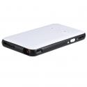 Pico Projecteur Android 4.4 Vidéoprojecteur Intelligent 1000 Lumens 854 x 480 1 Go + 8 Go Bluetooth Wifi HDMI Blanc - Pico pr...