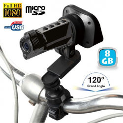 Caméra sport embarquée Full HD 1080P grand angle 120° Yo Gun 8 Go - Camera sport HD - www.yonis-shop.com