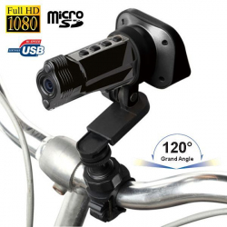 Caméra sport embarquée Full HD 1080P grand angle 120° Yonis Gun - Camera sport HD - www.yonis-shop.com