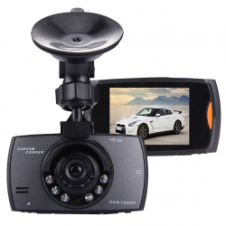 Car DVR Camera 2.7 inch LCD 480P 1.3MP Camera 170 Degree Wide Angle Viewing, Support Night Vision / Motion Detection / TF Car...