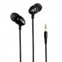 Écouteurs Smartphones Ordinateurs Intra-Auriculaires Nylon Anti-Emmêlement Noir - Ecouteurs - www.yonis-shop.com