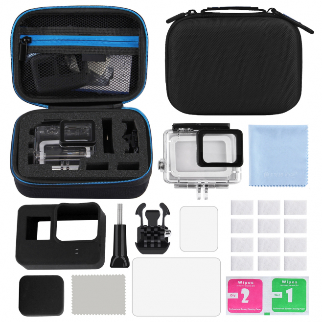 kit d accessoires gopro hero 6 5 12 en 1. Black Bedroom Furniture Sets. Home Design Ideas