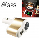 Car GPS Locator Free Installation Car Wireless Mini Positioning Tracker Vehicle Anti-theft Positioning Car USB 3.1A Quick Charge