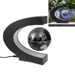 Globe Terrestre Lévitant Futuriste LED Multicolores Gadget High-Tech 360 Degrés - Tout le stock - www.yonis-shop.com