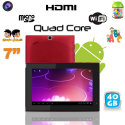 Tablette tactile Android 4.1 7 pouces Quad Core éducative WIFI 40 Go - Tablette tactile 7 pouces - www.yonis-shop.com