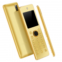 Mini Telephone Portable GSM 2G Double Sim Radio FM MP3 Appel SMS Or