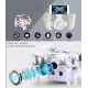 Mini Drone Compatible Android iOS Quadcopter Radiocommandé 4 Hélices Gyroscope 6 Axes Caméra 0.3 MP Or - Drone - www.yonis-sh...