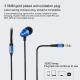 Écouteurs Appareils Jack 3.5mm Intra-Auriculaires Filaire Longueur 1.2m Stéréo 3D Nylon Résistant Rose - Ecouteurs - www.yoni...