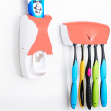 Distributeur Dentifrice Automatique Mural Porte Brosses A Dents 5 Places Orange - - www.yonis-shop.com