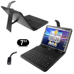 Housse clavier universelle tablette tactile 7 pouces support Micro USB - Housse tablette - www.yonis-shop.com