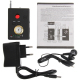 Détecteur Espion Multifonctionnel Audio Vidéo GPS GSM Détecteur Bug Téléphone Noir - - www.yonis-shop.com
