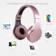 OVLENG S55 Bluetooth Wireless Stereo Music Headset with Mic, For iPhone, Samsung, Huawei, Xiaomi, HTC and Other Smartphones, ...