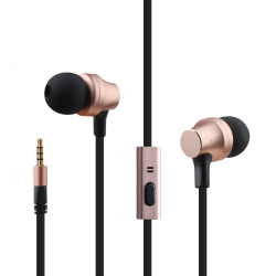 awei ES910i TPE In-ear Wire Control Earphone with Mic, For iPhone, iPad, Galaxy, Huawei, Xiaomi, LG, HTC and Other Smartphone...