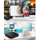 TV Box Android 5.1 UHD Quad Core 2.0 GHz Affichage LED 1 Go RAM 8 Go ROM 4K Support Wifi SD Noir - Box TV Android - www.yonis...