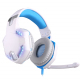 Casque Gamer PC Ordinateur USB 7.1 Surround Vibration Avec Micro Noir Et Blanc - Casque Gamer - www.yonis-shop.com