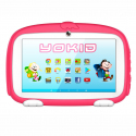 Tablette Enfant YOKID Educative Android 6.0 Ecran 7 Pouces Tactile Quad Core 1GB+8GB Bluetooth Rose